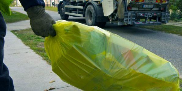 A szelektív hulladék előkészítése szállításra